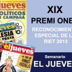 El Jueves - Premio Ones Meditterrania