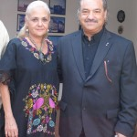 Martha E. Durazzo con Ángel Juárez, Presidente de la RIET
