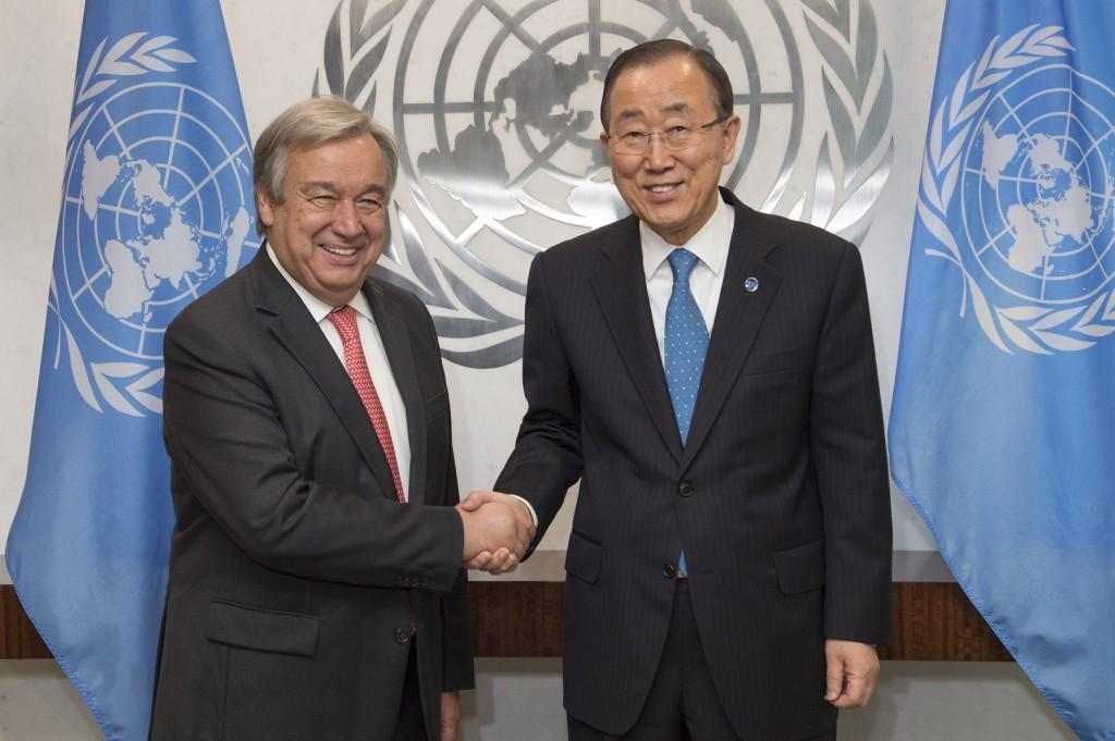 Secretary-General meets with Secretary-General-designate.