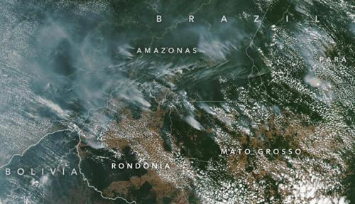 incendio brasil nasa