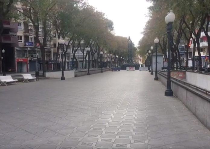 Tarragona confinada