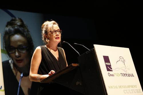 Gemma Rodríguez en los Premis Ones 2019